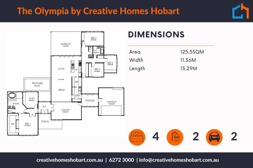 Olympia 351 plan
