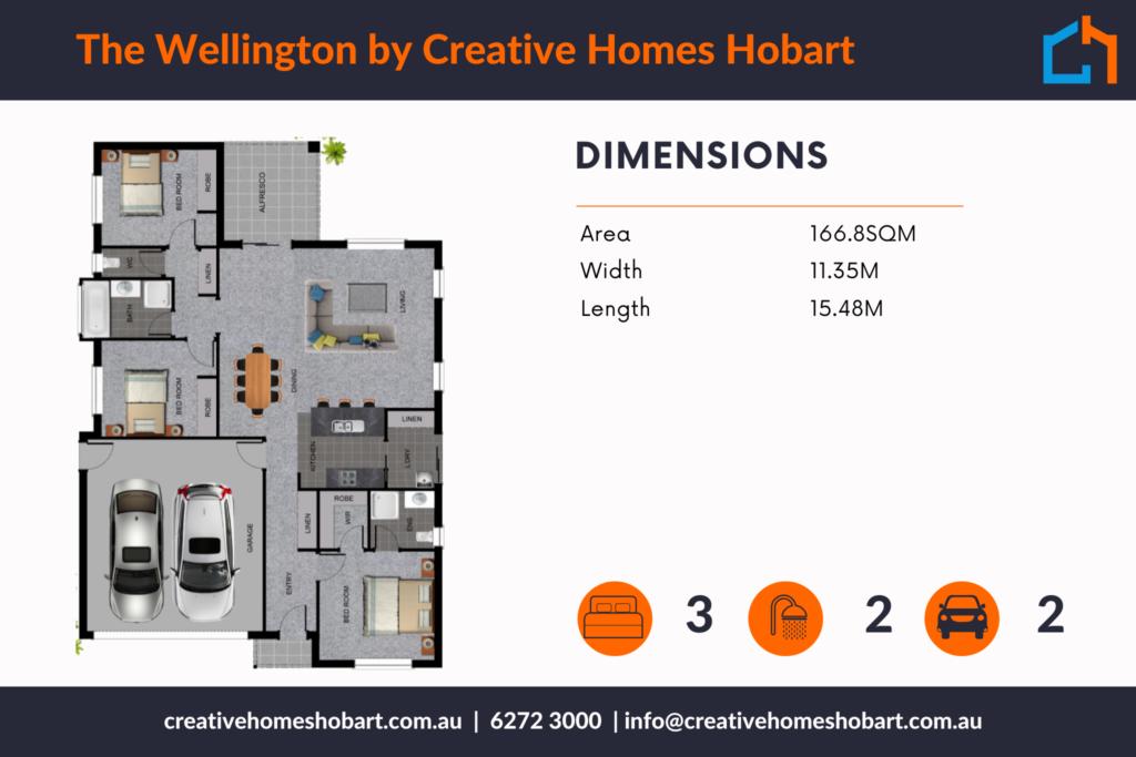 Wellington 166 plan