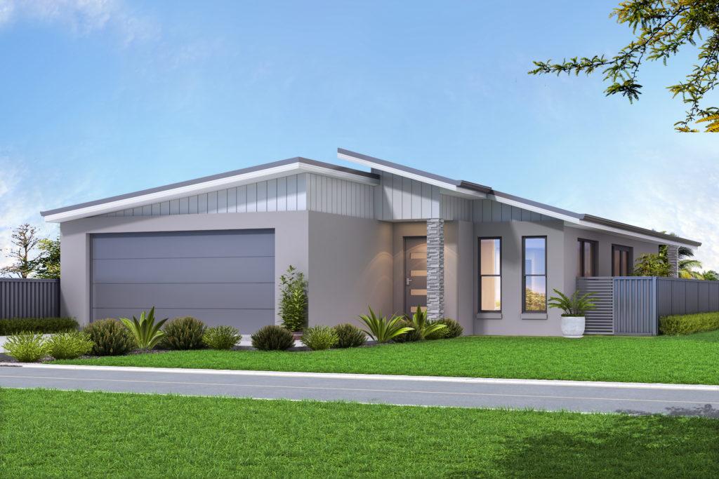 facade 1 - render